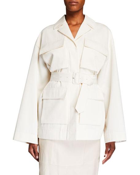 Co Cotton/Wool Safari Jacket