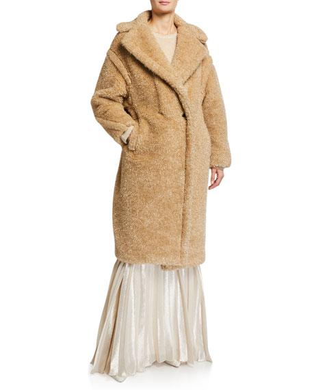 Maxmara Park Teddy Fleece Oversized Coat