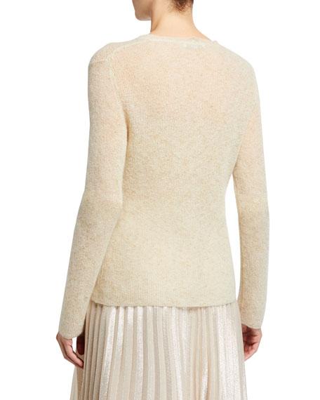 Maxmara Teheran Shimmer Crewneck Sweater