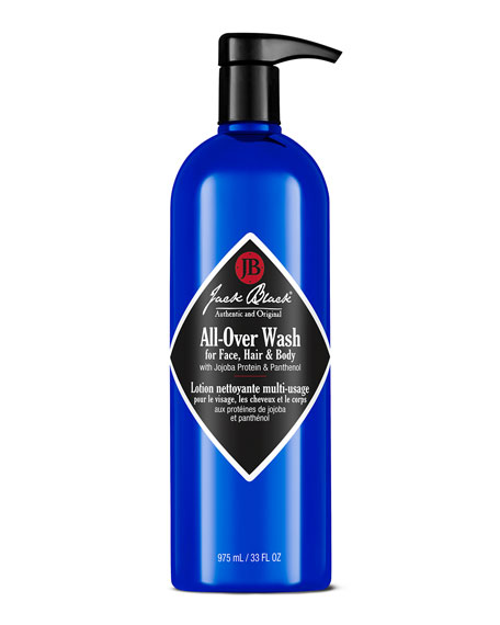 Jack Black All-Over Wash for Face, Hair &