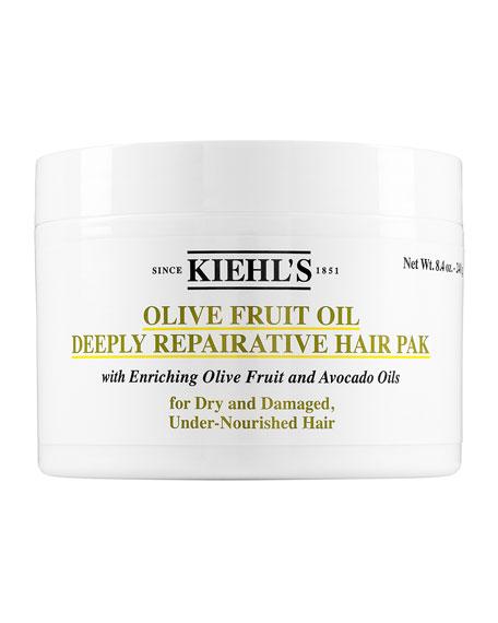 Kiehl's Since 1851 Olive Fruit Oil Deeply Repairative Hair Pak, 8.0 oz.