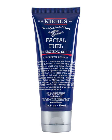 Facial Fuel Energizing Scrub Skin Buffer for Men, 3.4 oz.