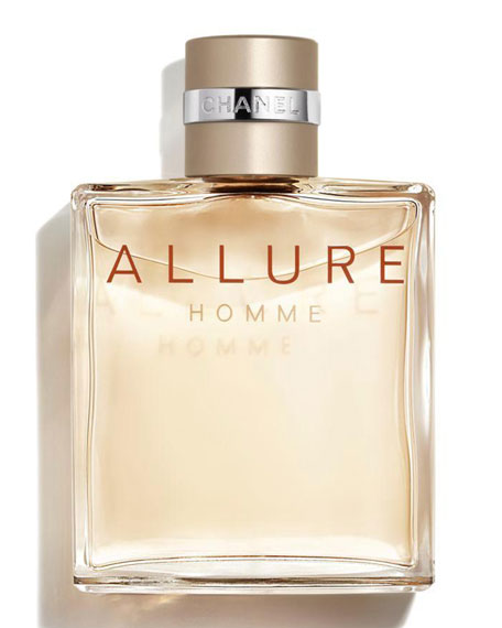 <b>ALLURE HOMME</b><br>Eau de Toilette Spray 3.4 oz./100 mL