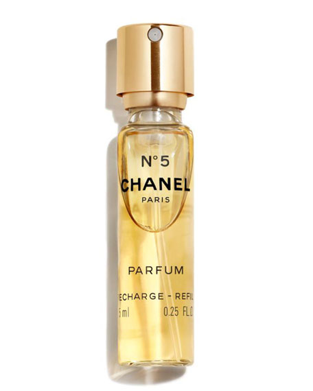 <b>N°5 </b><br> Parfum Purse Spray Refill, 0.25 oz./ 7.4 mL