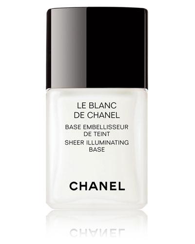 CHANEL <b>LE BLANC</b><br>Sheer Illuminating Base 1 oz.