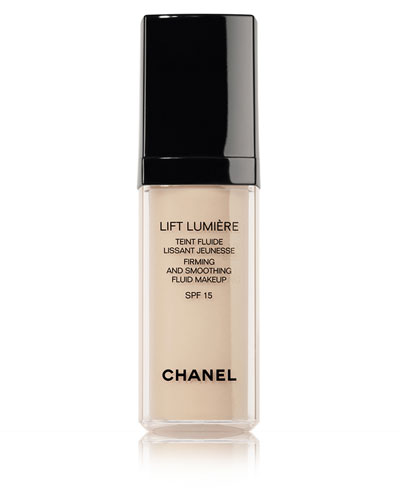 CHANEL <b>LIFT LUMIÈRE</b><br>Firming And Smoothing Sunscreen Fluid Makeup Broad Spectrum SPF 15