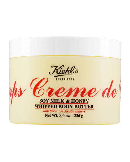 Creme de Corps Soy Milk & Honey Whipped Body Butter, 8.0 oz.