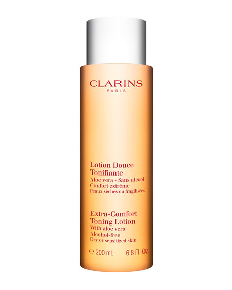 Clarins Extra-Comfort Toning Lotion - Dry or Sensitive Skin, 6.8 oz./ 200 mL