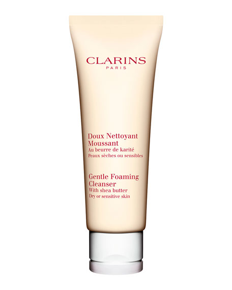 Clarins Gentle Foaming Cleanser, Dry/Sensitive Skin, 4.4 oz.