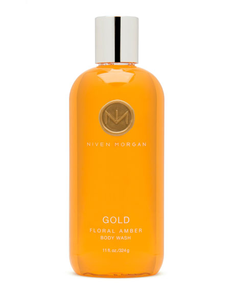 Niven Morgan Gold Body Wash, 11 oz.