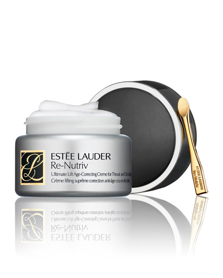 Estee Lauder Re-Nutriv Ultimate Lift Age-Correcting Crème for Throat and Decolletage, 1.7 oz.
