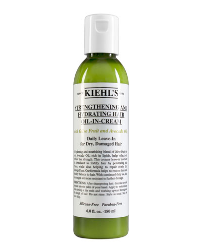 Strengthening and Hydrating Hair Oil-In-Cream  6.0 oz.