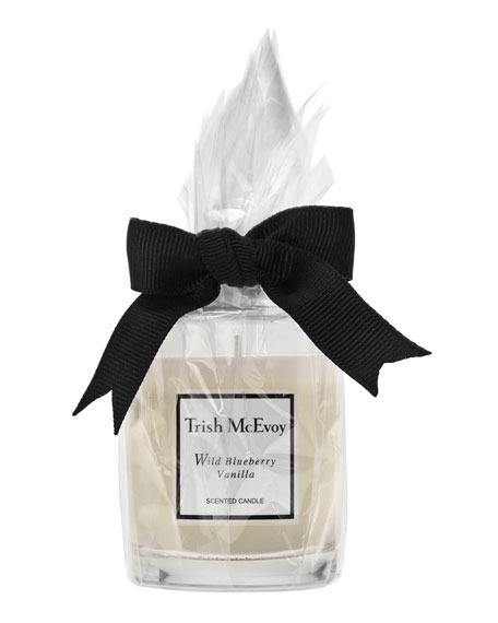 Trish McEvoy Wild Blueberry Vanilla Scented Candle, 7