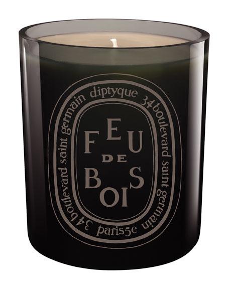 Diptyque Gray Feu de Bois Scented Candle