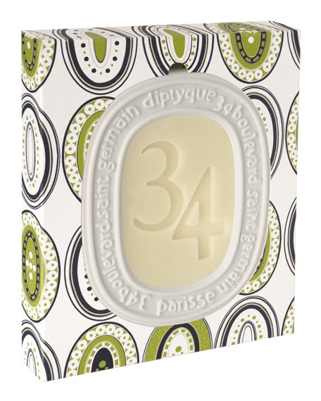 Image 2 of 2: Diptyque 34 Boulevard Saint Germain Scented Oval