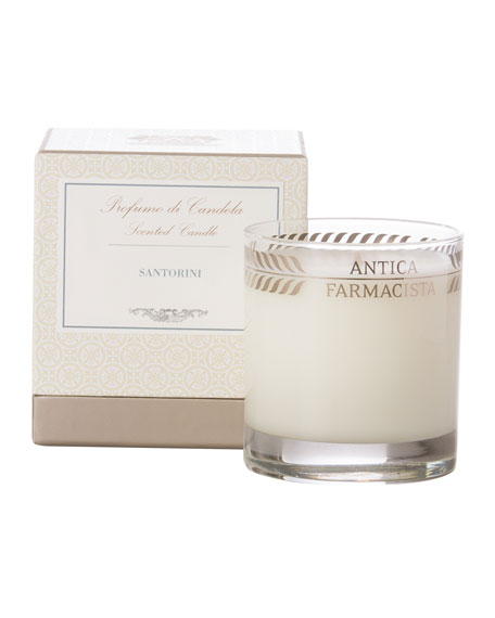 Santorini Scented Candle, 9 oz.