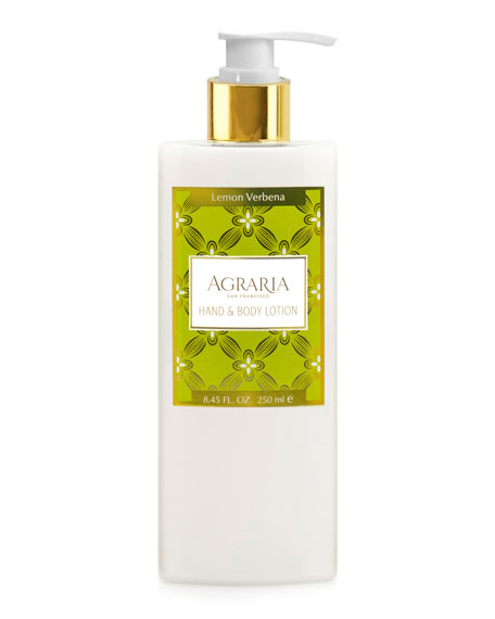 Agraria Lemon Verbena Liquid Hand Soap and Matching
