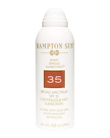 SPF 35 Continuous Mist, 5 oz./ 148 mL