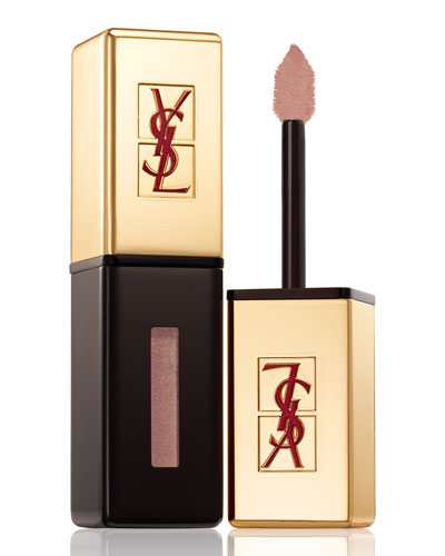 Yves Saint Laurent Glossy Lip Stain, Rebel Nudes