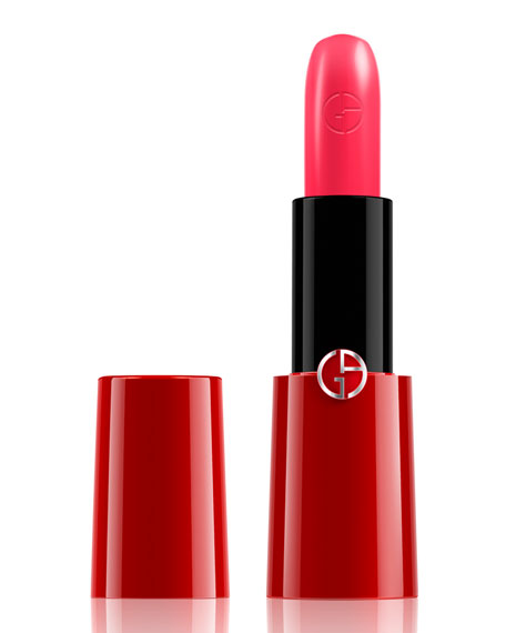 Giorgio Armani Rouge Ecstasy Color & Care Lipstick,