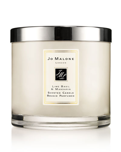 Lime Basil & Mandarin Deluxe Candle, 21.1 oz