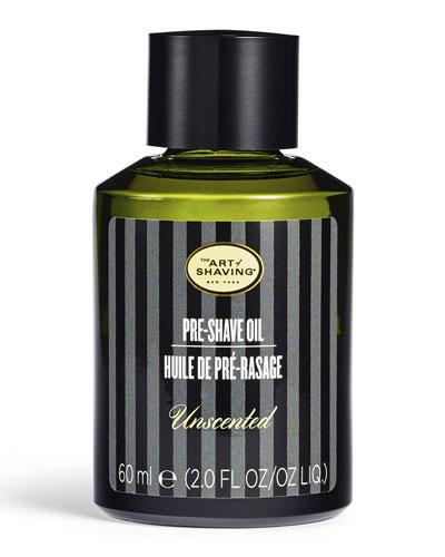 Pre-Shave Oil  Unscented