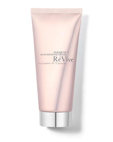 ReVive Fermitif Hand Renewal Cream Broad Spectrum SPF 15 Sunscreen, 3.4 oz./ 100 mL