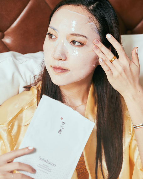 Image 2 of 3: Sulwhasoo Snowise Brightening Mask, 10 Sheets