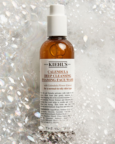Calendula Deep Cleansing Foaming Face Wash, 7.8 oz