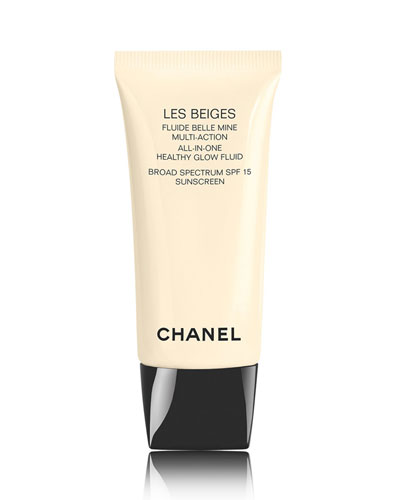 <b>LES BEIGES </b><br>All-in-One Healthy Glow Fluid Broad Spectrum SPF 15 Sunscreen