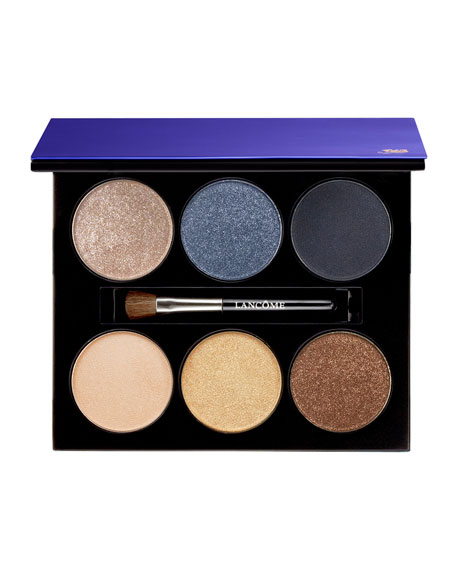 Limited Edition Six Pan Eye Palette, Azure Chic