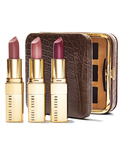 Bobbi Brown Limited Edition Luxe Trio- Exclusively Ours