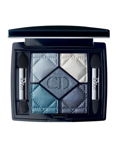 5 Couleurs Eye Shadow Palette, Carre Bleu