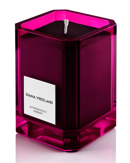 Diana Vreeland Outrageously Vibrant Candle