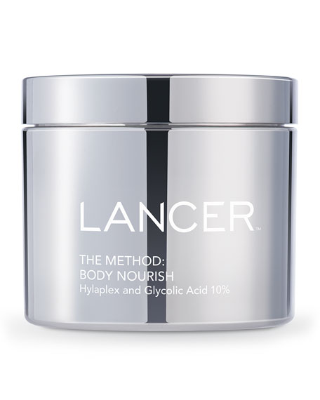 Lancer The Method: Body Nourish Cream with Hylaplex??