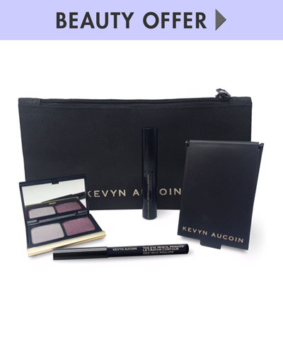 Yours with any $125 Kevyn Aucoin purchase—Online only*
