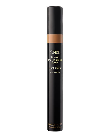 Oribe AIRBRUSH ROOT TOUCH-UP SPRAY, LIGHT BROWN, 0.7 OZ./ 30 ML