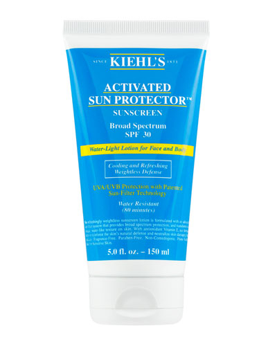 Activated Sun Protector™ Water-Light Lotion for Face & Body Broad Spectrum SPF 30, 5 oz.