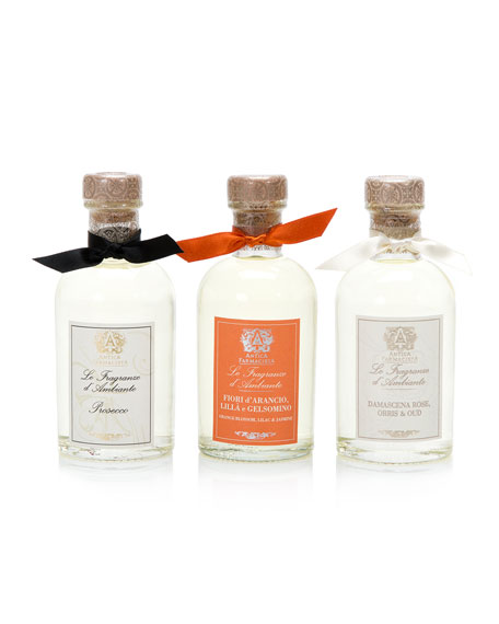 Antica Farmacista Collection of 3 Home Ambiance Diffusers:
