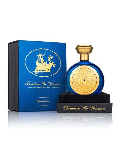 Blue Sapphire-Pure Perfume w/Sapphire Bottle, 100 mL