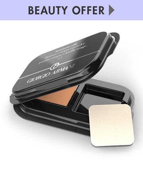 Giorgio Armani Luminous Silk Dual-Use Compact Powder, shade 5.5   Neiman Marcus