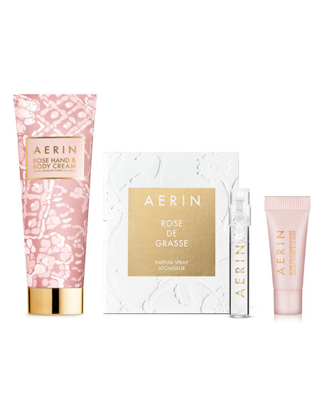 Yours with any $50 or more Aerin purchase—Online only*