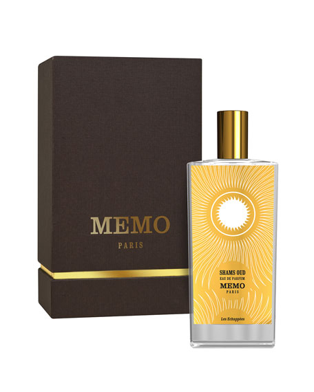 Image 2 of 2: Memo Paris 2.5 oz. Shams Oud Eau de Parfum Spray