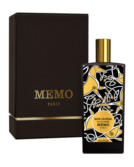 Memo Paris Irish Leather Eau de Parfum Spray, 2.5 oz./ 75 mL