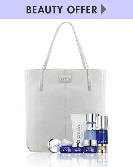 La Prairie Yours with any $750 La Prairie purchase—Online only*