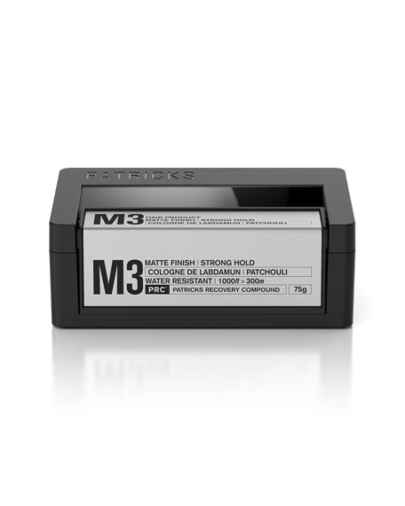 M3 Matte Finish Strong Hold Pomade, 75g