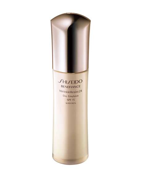 Shiseido WRINKLERESIST24 DAY EMULSION, 2.54 OZ.