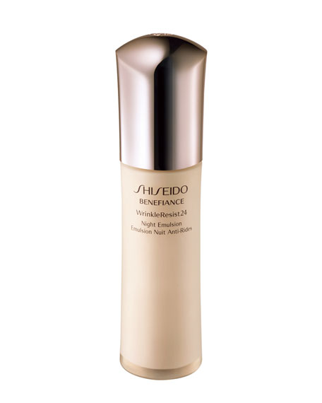 Shiseido BENEFIANCE WRINKLERESIST24 NIGHT EMULSION, 2.54 OZ.