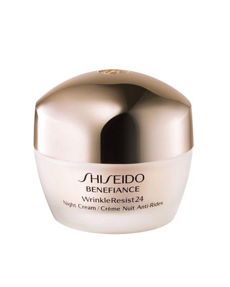 Shiseido WrinkleResist24 Night Cream, 1.7 oz.
