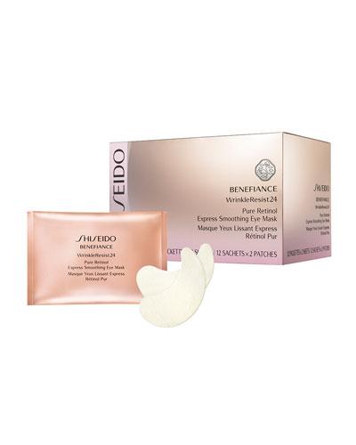 Benefiance WrinkleResist24 Pure Retinol Express Smoothing Eye Masks  12ct